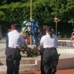 Rinden homenaje a policías que murieron en cumplimiento del deber