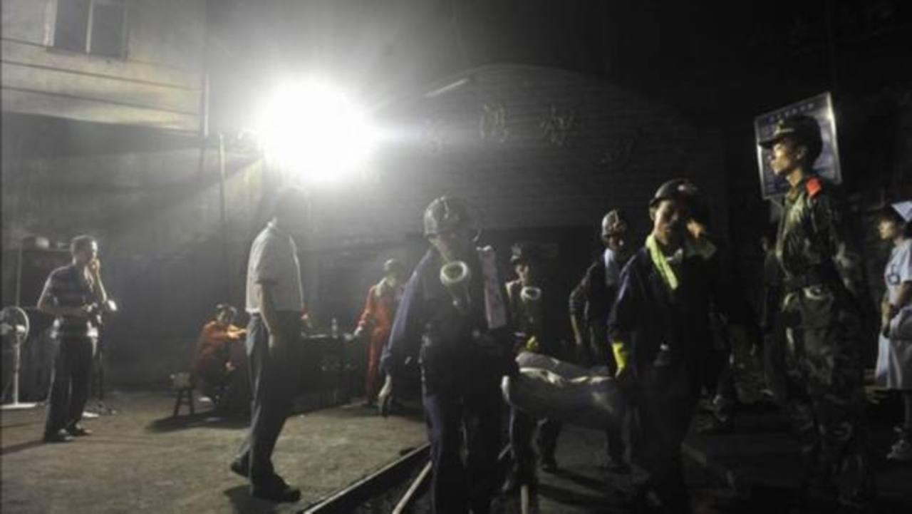 Cinco muertos tras el derrumbe de mina en China