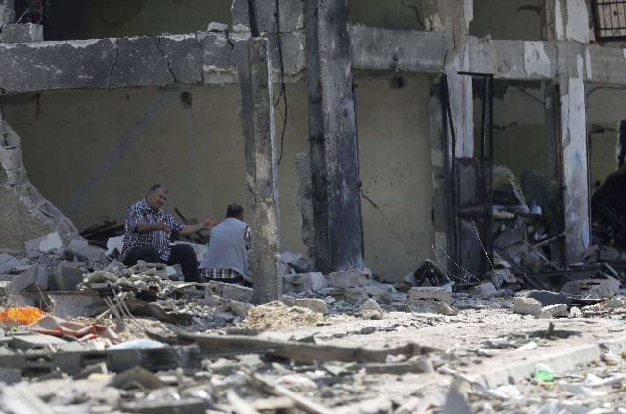Inician negociaciones en intento por terminar conflicto en Gaza