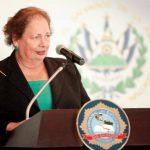 La embajadora Mari Carmen Aponte ha dirigido la delegación diplomática de EE. UU. en El Salvador desde 2010. foto edh / archivo