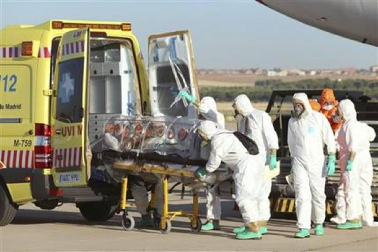 El misionero español murió en el hospital donde se le atendía en Madrid.
