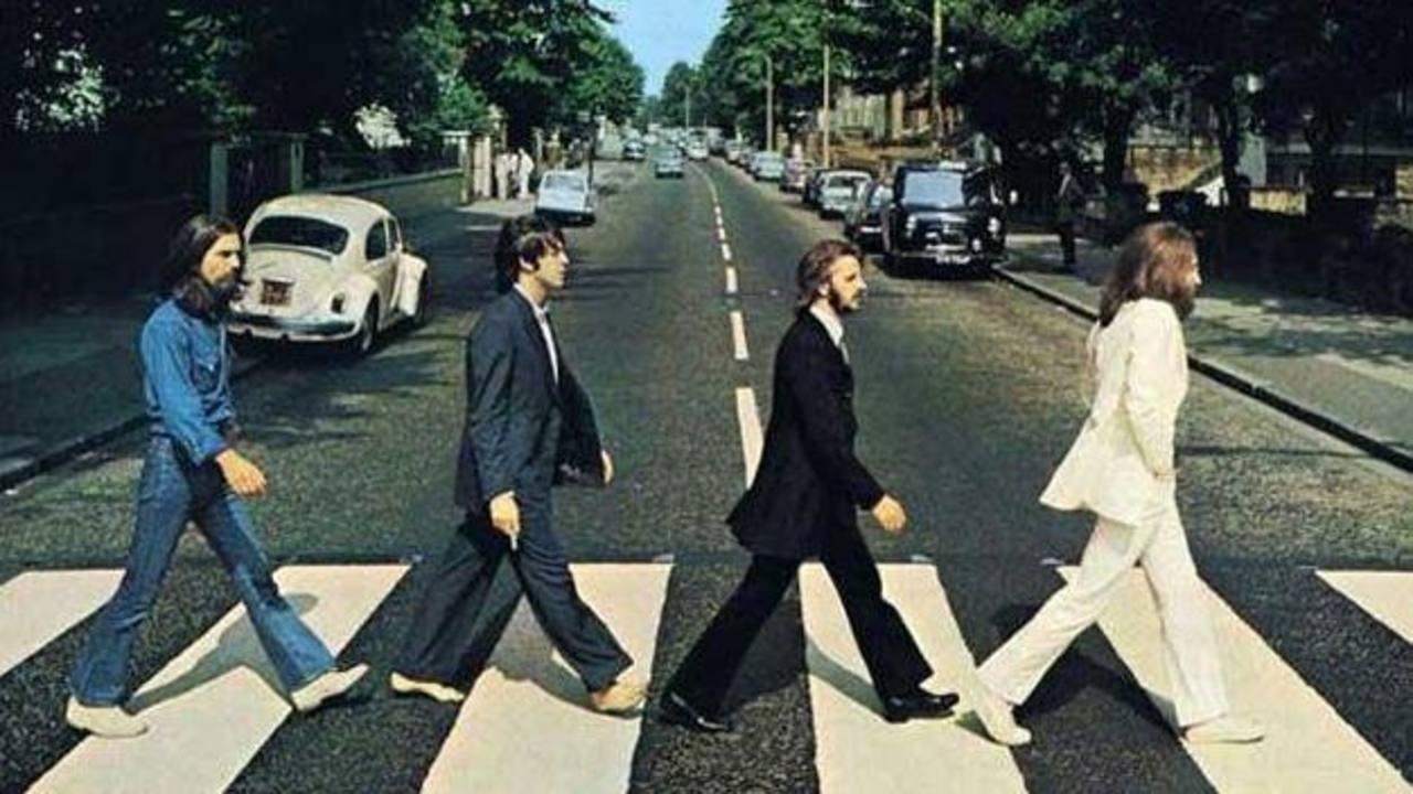 Londres celebra el 45 aniversario de la foto de The Beatles en Abbey Road