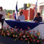 El vicepresidente Órcar Ortíz en inauguración de Metrópoli San Gabriel.
