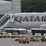 Avión comercial aterriza en Manchester escoltado por un caza por alerta de bomba