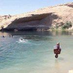 Aparece un lago en el desierto de Túnez