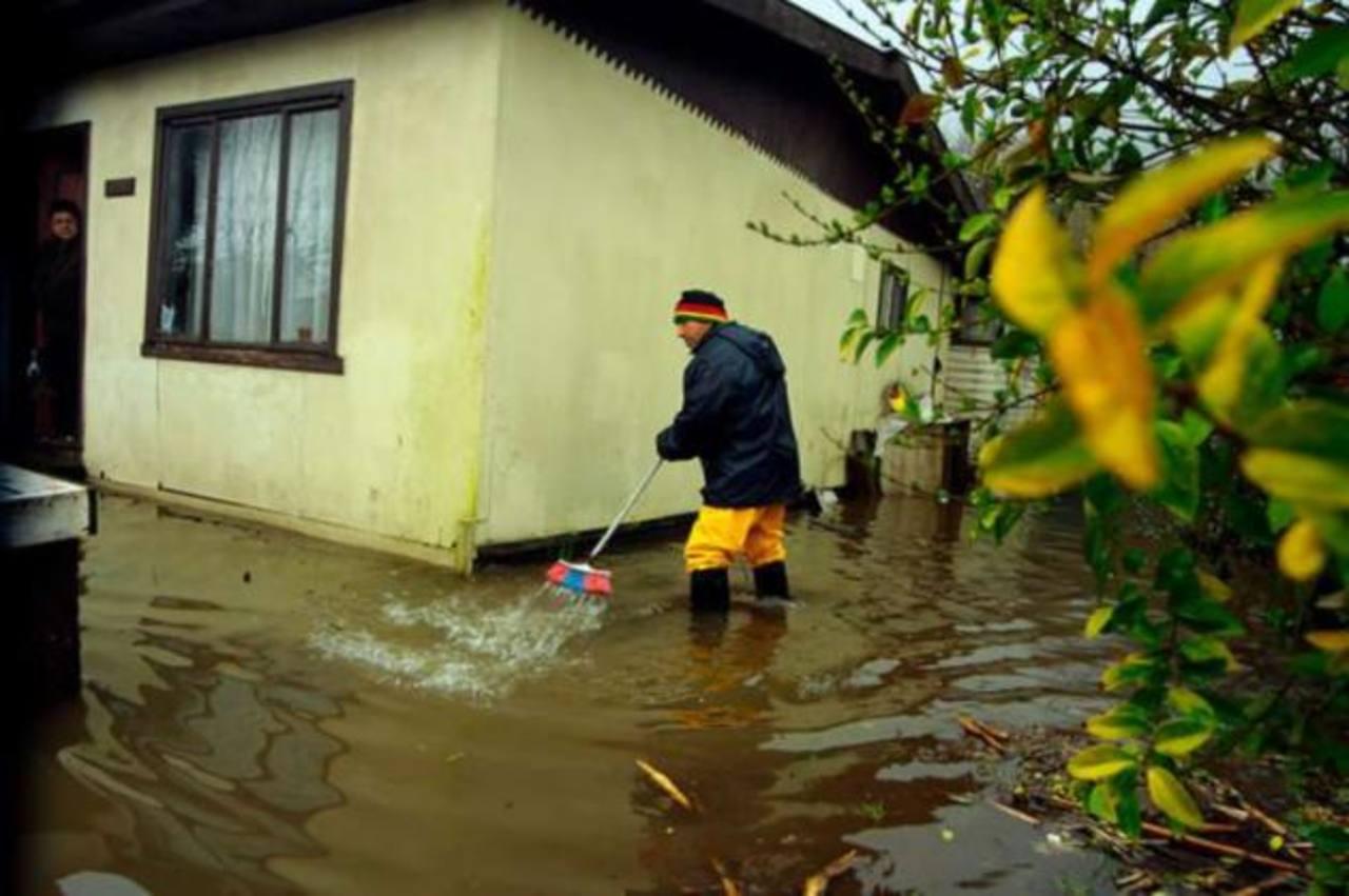 Temporal deja 481 damnificados y 11 viviendas destruidas en el sur de Chile