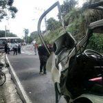 Zona del accidente.