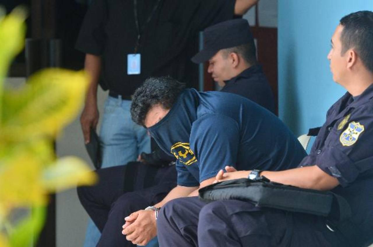 Carlos Antonio Pérez, de 30 años, será juzgado el lunes por conducción peligrosa y daños. Foto EDH /René Quintanilla