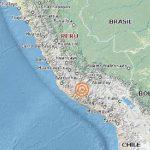 Sismo de magnitud 7.0 sacude sureste de Perú