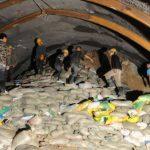 Rescatados 13 trabajadores atrapados en un túnel tras casi 6 días