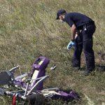Encuentran más restos humanos de avión derribado en Ucrania