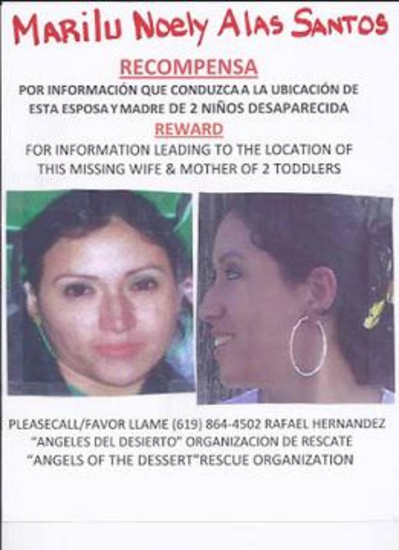 Afiche distribuido en varios lugares de Estados Unidos, parte de los esfuerzos por encontrar a la salvadoreña. Foto EDH