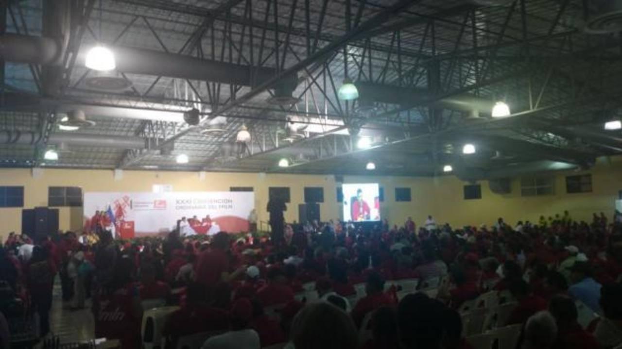 FMLN presentó candidatos a diputados para legislatura 2015-2018