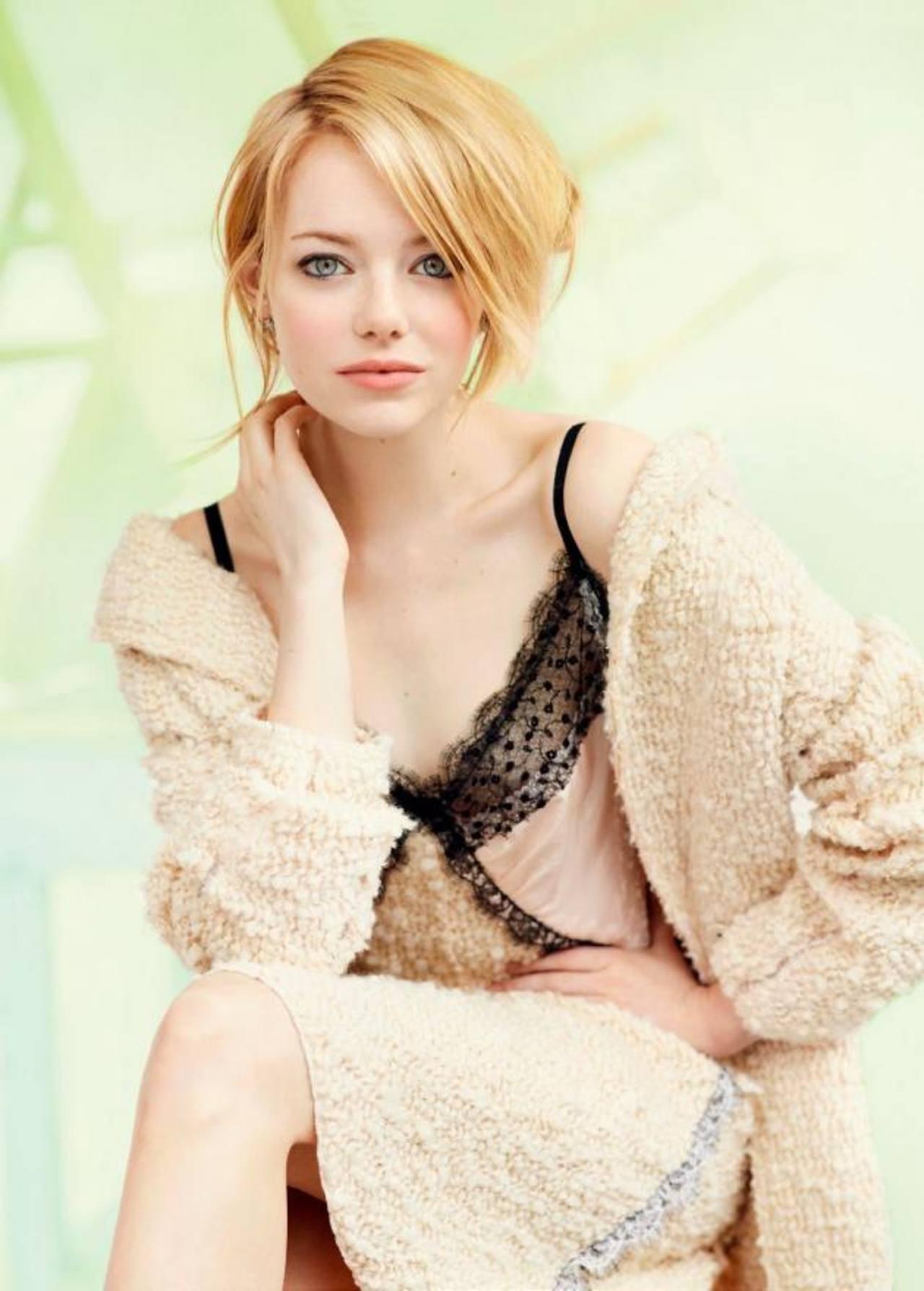 La actriz Emma Stone se ha caracterizado por protagonizar diversos géneros en el mundo del cine. Foto EDH /archivo
