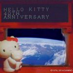 Japón manda a Hello Kitty al espacio