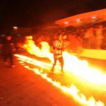 Hoy es la batalla de las bolas de fuego en Nejapa
