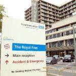 Hospital en Londres al que fue trasladado el británico