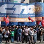 Argentina: huelga de 36 horas con marchas y cortes en accesos a la ciudad