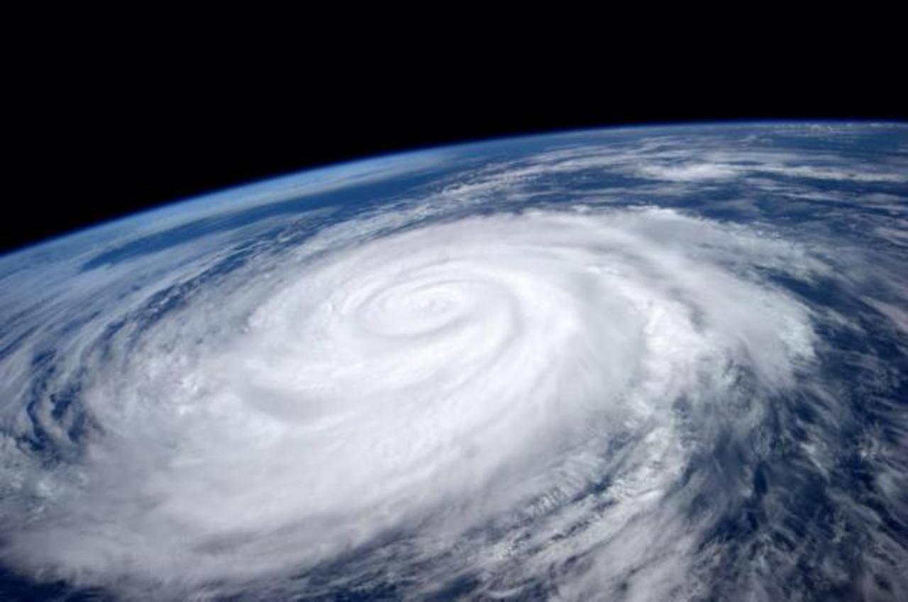 La NASA proporcionó esta imagen del huracán Marie captada desde la Estación Espacial Internacional.