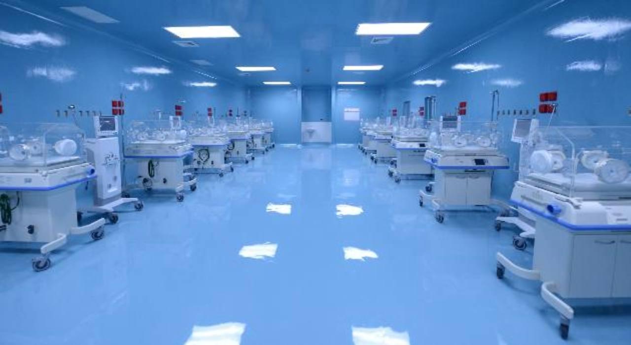 Parte de las instalaciones y equipo del nuevo hospital de Maternidad, cuyo nombre fue modificado a Hospital Nacional de la Mujer. Foto EDH / archivo