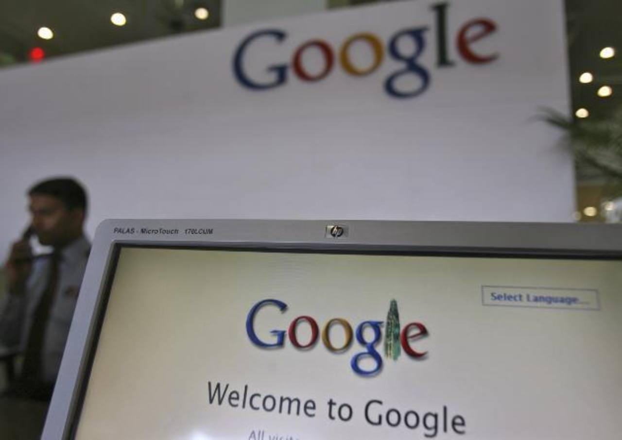 A pesar de su capitalización, Google no es la empresa con mayor rendimiento bursátil, es la número 11. Foto EDH / archivo