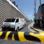 Erick Tomás Gálvez Flores, de 31 años, fue acribillado en las inmediaciones del paso a desnivel de la 75a Avenida Norte, en la capital. FOTO EDH / Jaime Anaya.