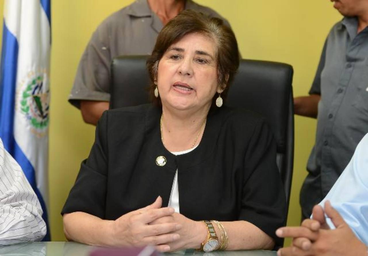 Juana Lemus de Pacas, alcaldesa de Mejicanos, no buscará la reelección. foto edh / archivo