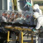 La llegada, ayer, a Madrid, del religioso Miguel Pajares, el primer español contagiado de ébola.