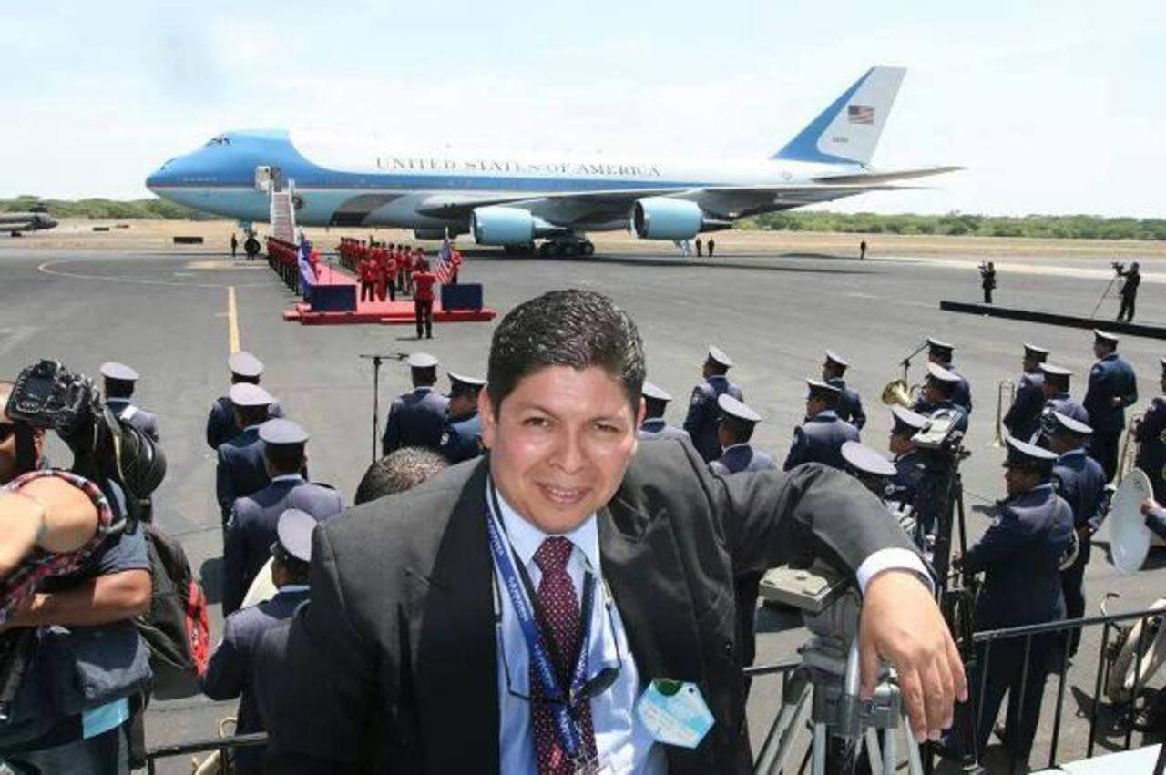 Ernesto Villalobos fue un profesional apasionado de las comunicaciones. Foto edh / Cortesía