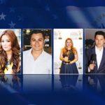 Siete rostros de periodistas salvadoreños que destacan en Estados Unidos