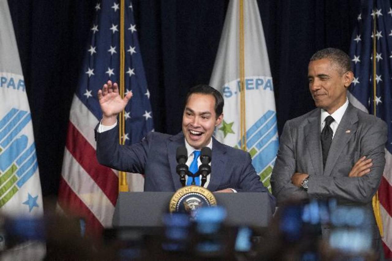 El presidente de EE. UU., Barack Obama durante un discurso ante los empleados en Washington . foto edh / efe
