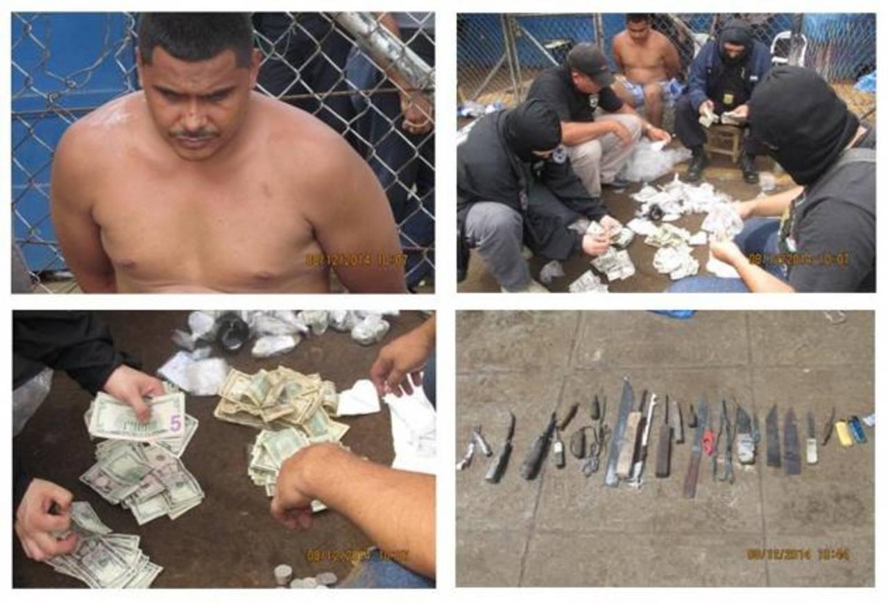 En la requisa de Usulután también fueron decomisadas armas hechizas y más de 30 teléfonos. Foto EDH / Cortesía FGR