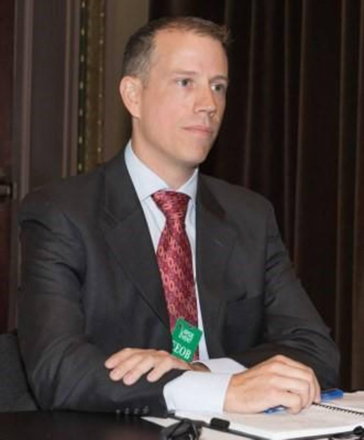 Jason Kaplan, agregado legal de oficina del FBI en El Salvador.