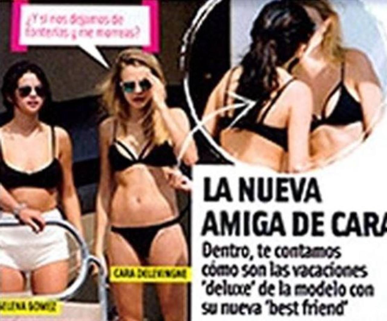 ¿Son pareja Selena Gómez y Cara Delevingne?