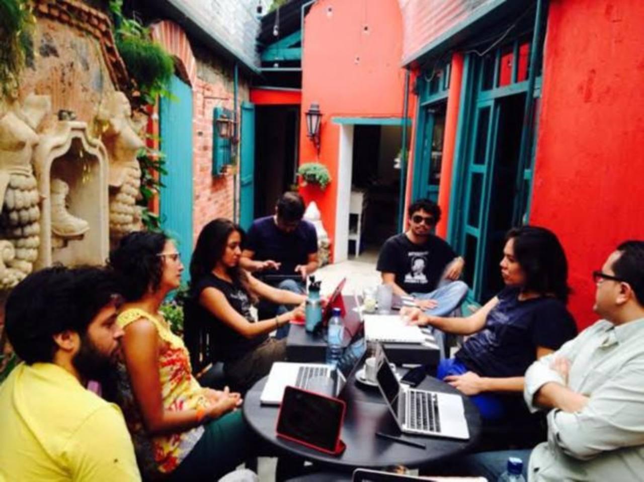 El equipo de producción de la película, coproducida entre seis países centroamericanos, tuvo un encuentro en Guatemala.
