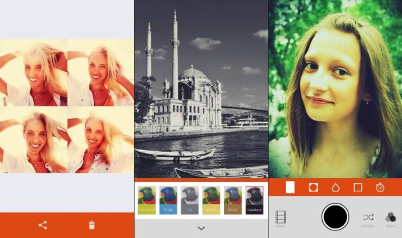 Retrica a la cabeza de las apps de fotografías
