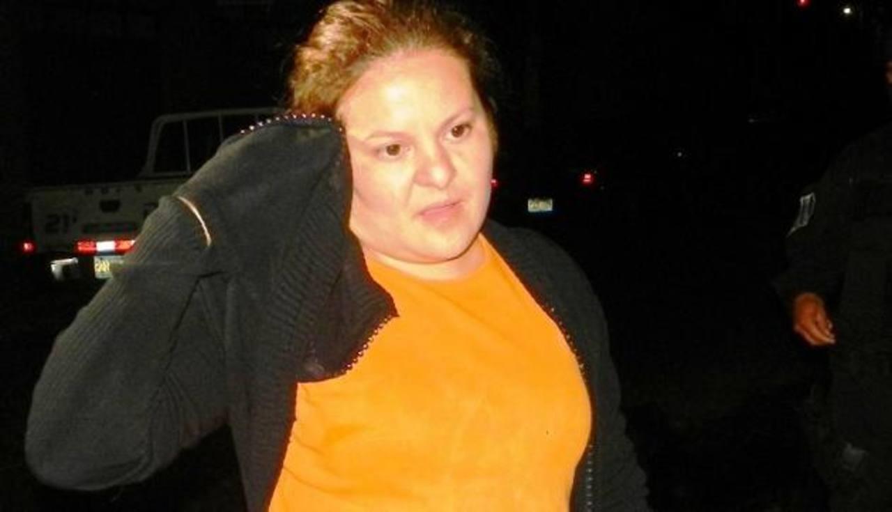 La abogada Clarissa Navarrete fue detenida el martes en la noche en el municipio de Mejicanos. Foto EDH / Archivo