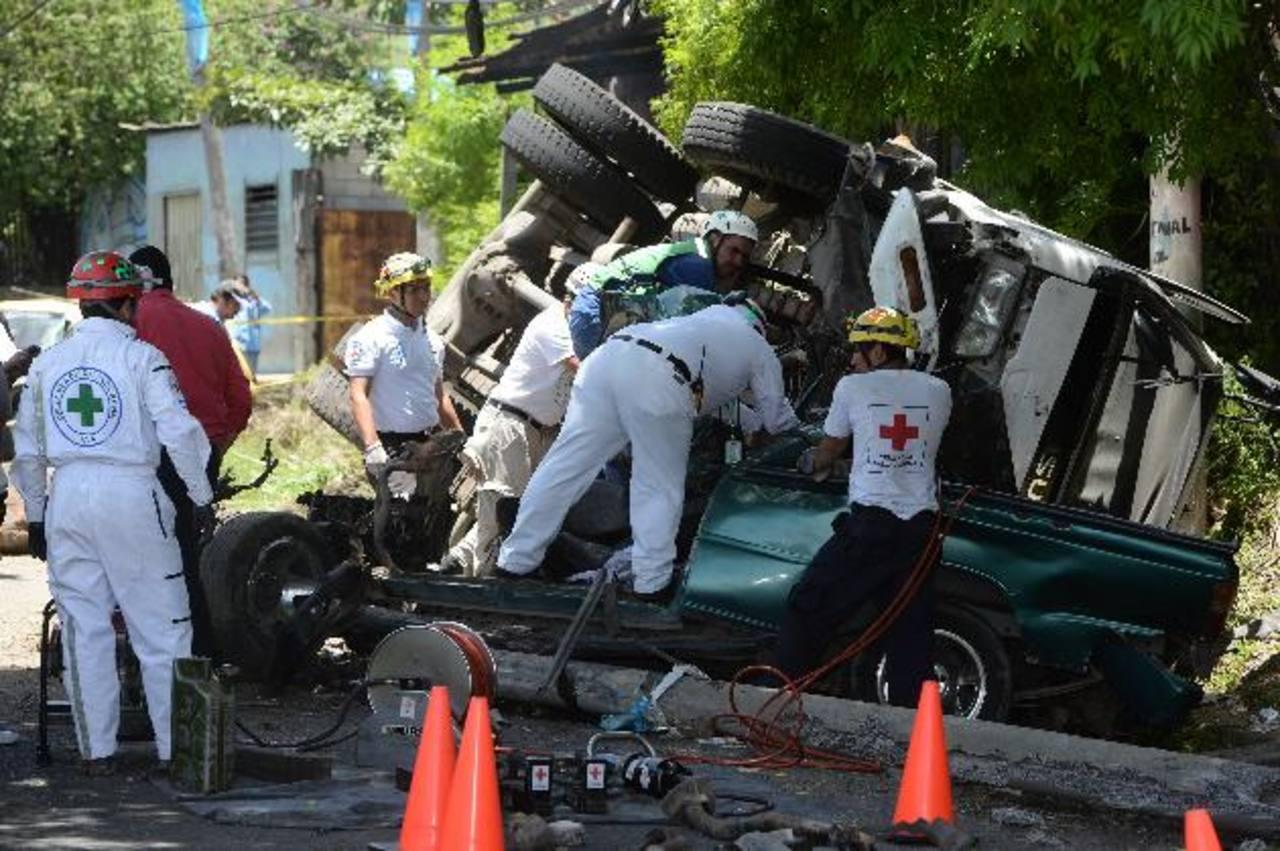 Tres muertos deja accidente vial en calle a Mariona