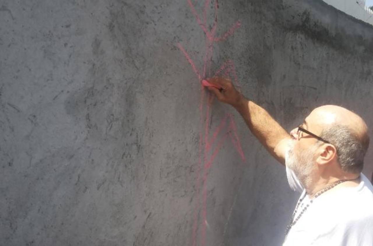 Elaboran mural artístico en San Marcos