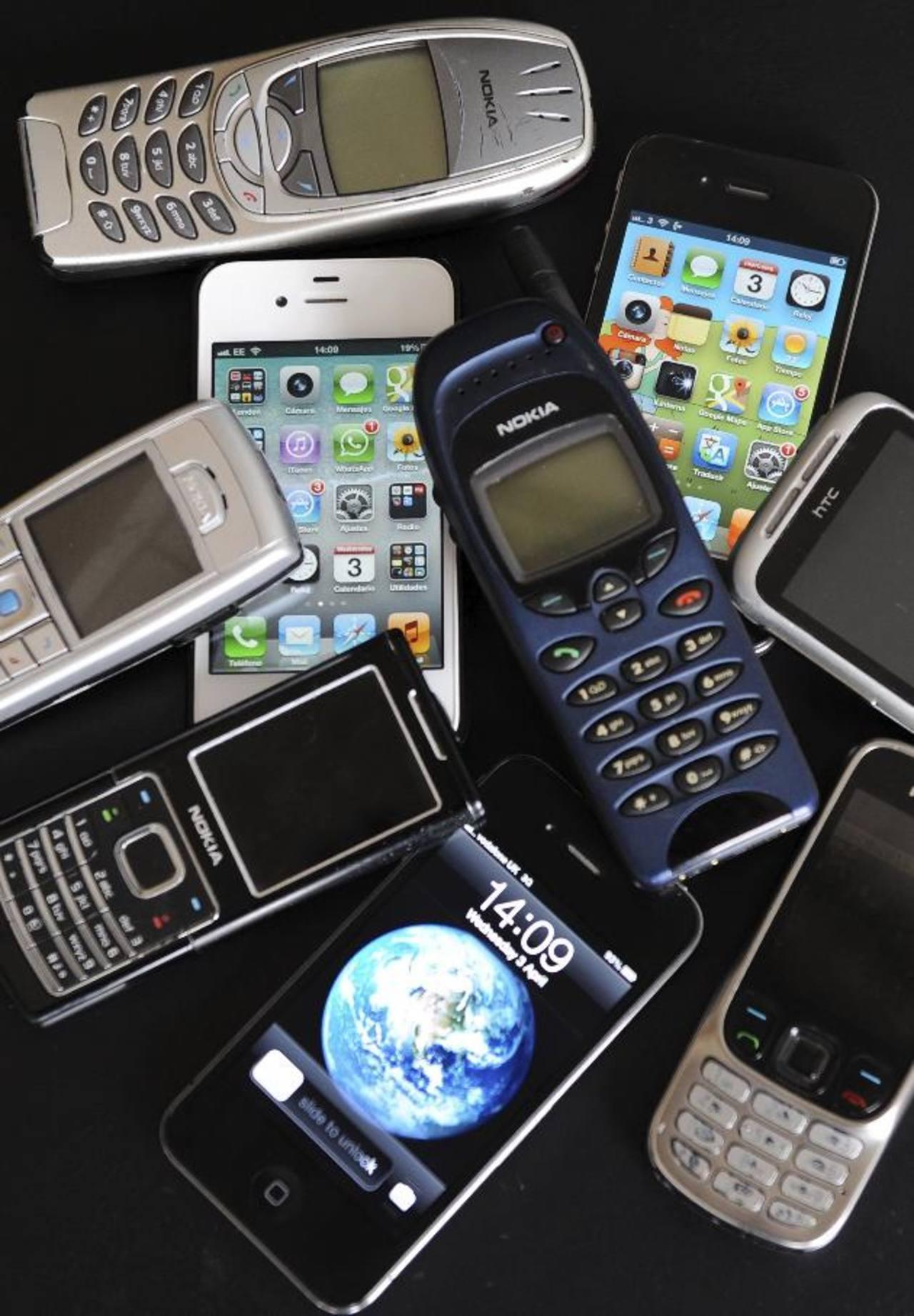 La portabilidad numérica aplicará para los 8 millones de celulares en el país. foto edh / Archivo