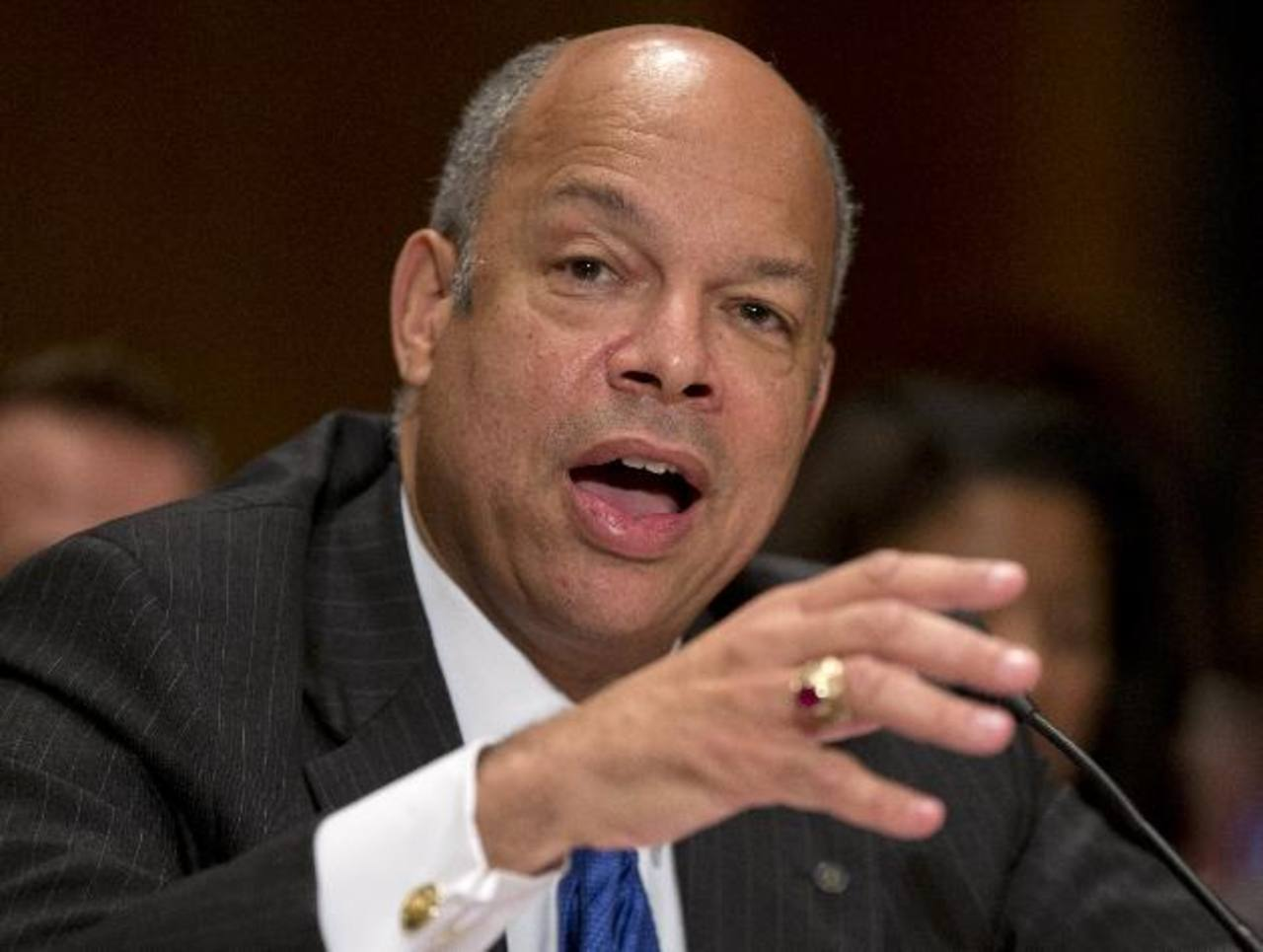 Jeh Johnson, secretario del Depto. de Seguridad Interna.
