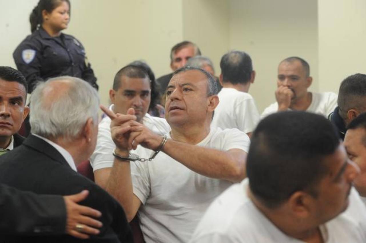 Ulloa Sibrián seguirá detenido hasta que sea llevado a juicio por narcotráfico. Foto EDH / MIGUEL VILLALTA