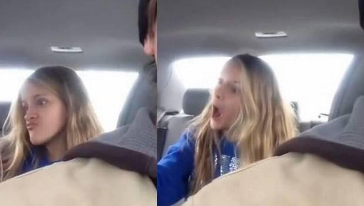 Video de chica sacándose selfies se vuelve viral