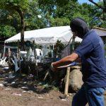 Policía detalló que al menos cien mareros participaron en el velorio del cabecilla muerto. Foto EDH / Carlos Segovia.