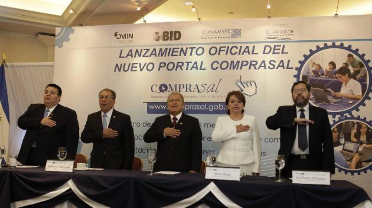 El presidente Salvador Sánchez asistió a la presentación.