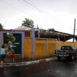 Las instalaciones del Club de Leones de Chinameca servía para servicio social de la comunidad. foto edh / cortesía
