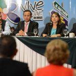 Representantes de Fundación Azteca y de diferentes instituciones anunciaron la actividad.