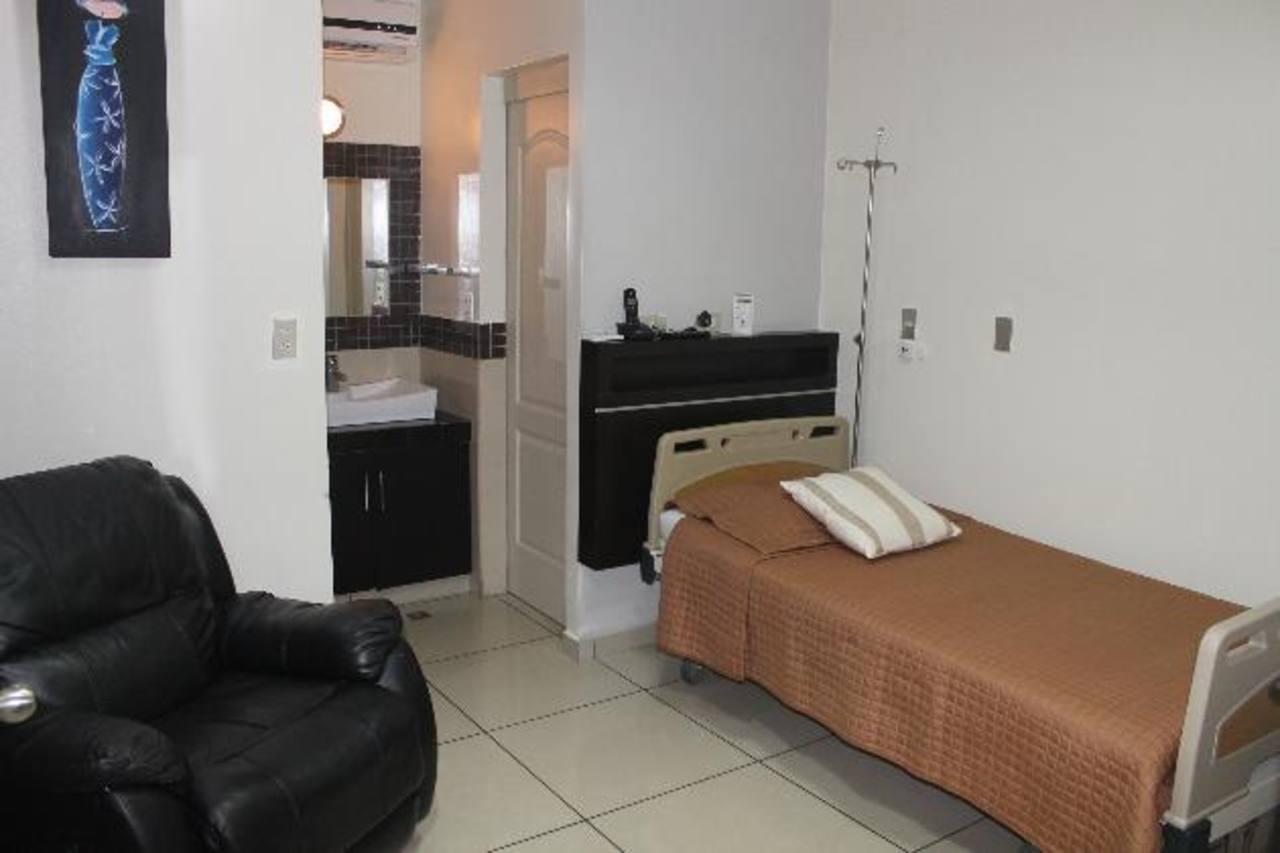 El Centro está equipado con cómodas habitaciones.