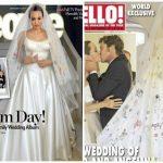 Revelan las primeras fotos de la boda de Angelina Jolie y Brad Pitt