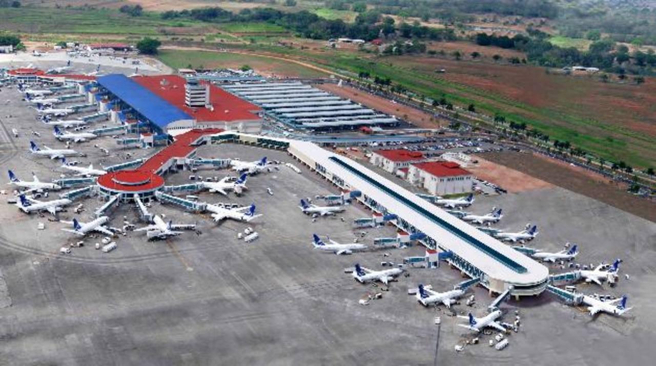 El Aeropuerto Internacional Tocumen es el más importante de Panamá.
